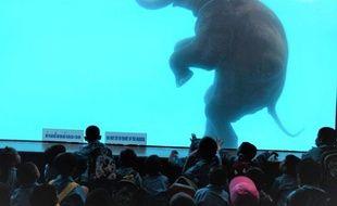 Le zoo de Khao Kheow en Thaïlande affirme qu'il ne s'agissait que d'un exercice.
