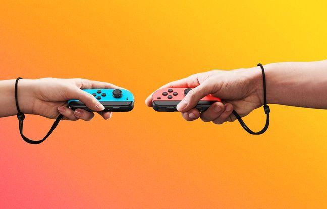 Les deux petits Joy-Con illustrent le caractère convivial de la Nintendo Switch.