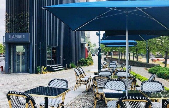 Au bout du mail Mitterrand, le bar restaurant Canal 99 a investi le bâtiment de l'ancien Taï Shogun.