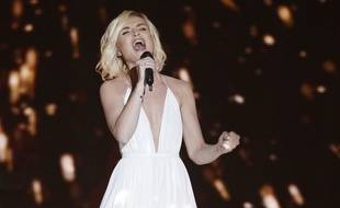 Polina Gagarina a représenté la Russie à l'Eurovision 2015.