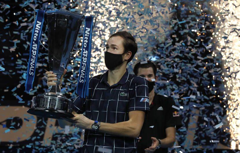 Masters de Londres: En démonstration, Medvedev remporte le tournoi après avoir battu tous les meilleurs