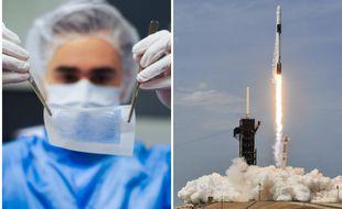 La peau bioimprimée de Poietis et SpaceX