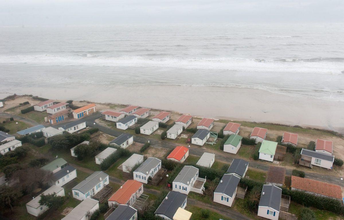 A Soulac-sur-Mer,les prix de l'immobilier sont en baisse de 4,6 %, en partie à cause de l'érosion des côtes. Photo : Sebastien Ortola – SEBASTIEN ORTOLA
