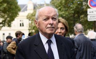 Jacques Toubon, le 1e septembre 2017 à Paris.