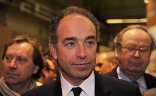 Jean-François Copé au Salon de l'agriculture, le 24 février 2014.