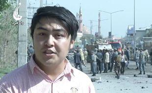Le journaliste afghan Elyaas Ehsas travaillait dans son pays pour une chaîne de télévision.