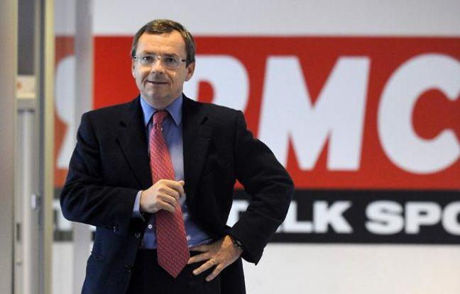 Alain Weill, PDG de RMC et BFM TV.