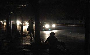 Un black-out total a plongé le Chili dans le noir le 14 mars 2010 après une coupure de courant géante.