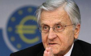 Jean-Claude Trichet, le président de la Banque Centrale Européenne, à Francfort, le 4 août 2011.