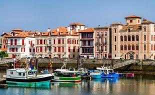 Saint-Jean-de-Luz au pays Basque.