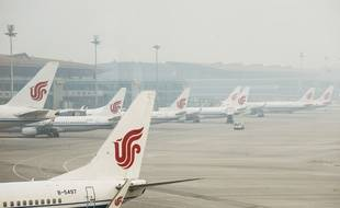 Des avions de la compagnie Air China