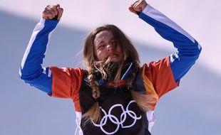 Julia Pereira de Sousa a remporté, à seulement 16 ans, la médaille d'argent du snowboardcross aux JO 2018 de Pyeongchang.