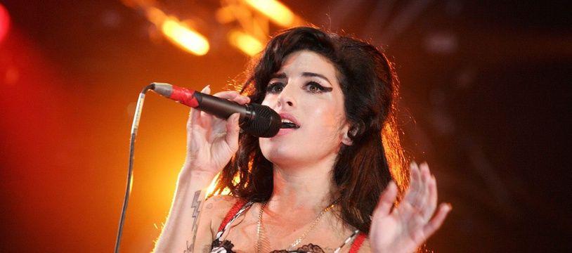 La chanteuse Amy Winehouse.