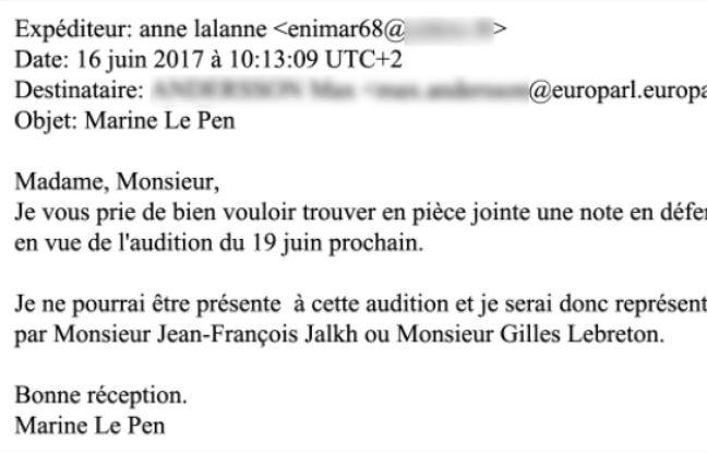 Ce mail officiel a été envoyé depuis l'adresse du compte Twitter d'Anne Lalanne.