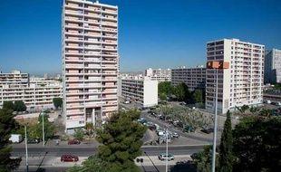 Une cité des quartiers nord de Marseille.