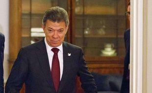 Le président colombien Juan Manuel Santos le 7 novembre 2014 à Londres.
