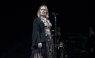 Adele sur scène à Glastonbury