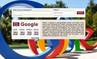 Google a annoncé le rachat de Zagat le 8 septembre 2011.
