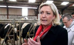 """Marine Le Pen, candidate du Front national (FN) à l'élection présidentielle, réaffirme dans un entretien au Figaro à paraître mardi sa conviction qu'elle sera """"devant"""" Jean-Luc Mélenchon au premier tour de l'élection présidentielle."""
