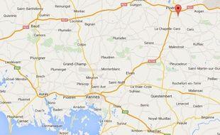 L'accident a eu lieu non loin de Ploërmel en octobre.