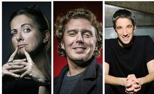 Charline Vanhoenacker, Alex  Vizorek et Guillaume Meurice sont officiellement candidats à la présidence de Radio France.
