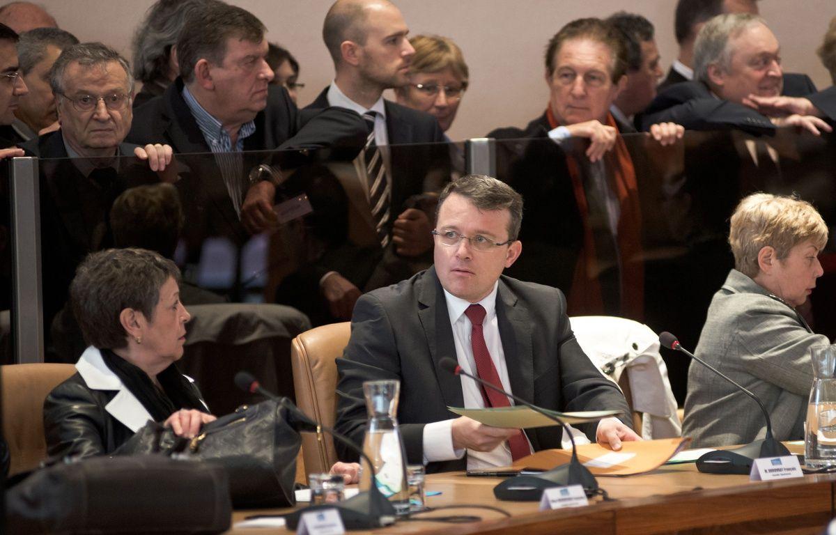 François Durovray, président (LR) du conseil régional de l'Essonne déclare son département dans l'impossibilité de payer les aides sociales. – Nicolas MESSYASZ/SIPA
