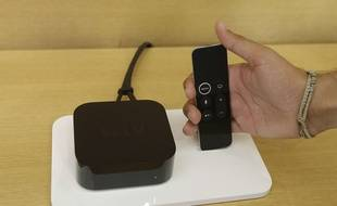 Une Apple TV 4k.