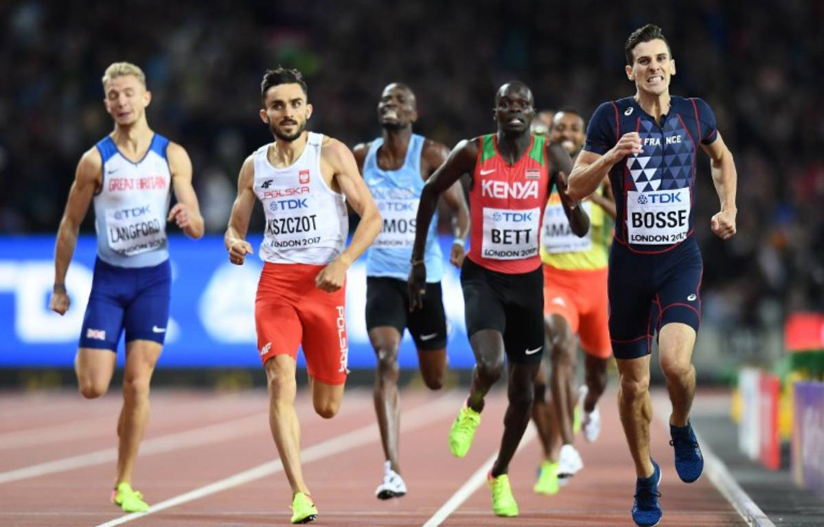 Pierre-Ambroise Bosse est champion du monde du 800m ! – JEWEL SAMAD / AFP