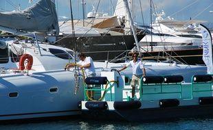 Les barges Eco tank vont chercher les polluants à la source