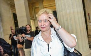 La juge Isabelle Prévost Desprez, à la sortie de l'audience à laquelle le tribunal a prononcé sa relaxe./AMEZUGO_161616/Credit:UGO AMEZ/SIPA/1507021628