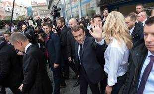Ici En Rpublique Tchque Emmanuel Macron Est Attendu Strasbourg Ce Dimanche Illustration