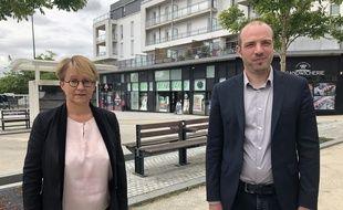 Comme en 2014, Nathalie Appéré et Matthieu Theurier ont fait alliance pour le second tour des municipales.