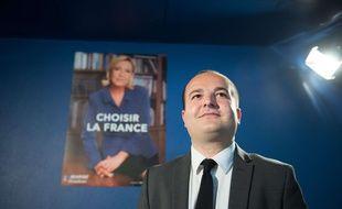David Rachline est le directeur de campagne de Marine Le Pen pour l'élection présidentielle.