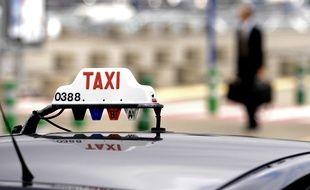 Un taxi (illustration).