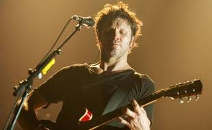 Bertrand Cantat au Printemps de Bourges le 24 avril 2014.