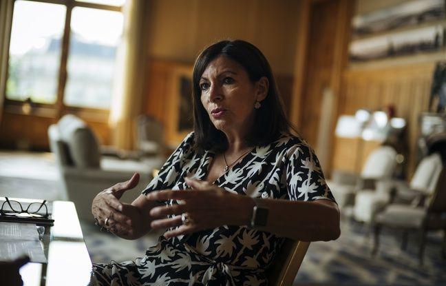 La maire de Paris, Anne Hidalgo, dans son bureau le 24 juin 2019.