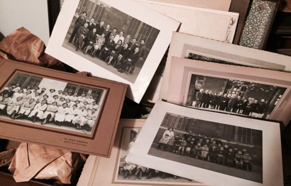 Des photos de classes quand Madeleine était institutrice – Clara Beaudoux/Twitter
