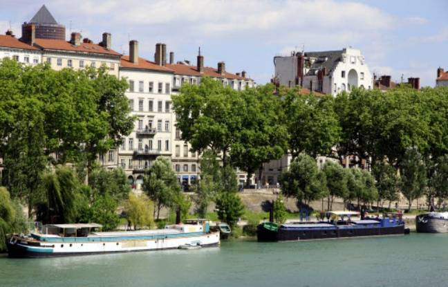Lyon: Poussé sans raison dans le Rhône par un groupe de jeunes, il s'en sort miraculeusement