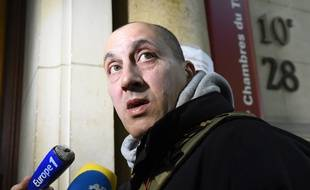 Vjéran Tomic, accusé du vol de cinq tableaux de maître, lundi 30 janvier au tribunal correctionnel de Paris.