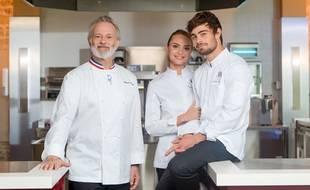 Francis Huster, Aurélie Pons et Clément Rémiens, héros de « Ici Tout Commence »
