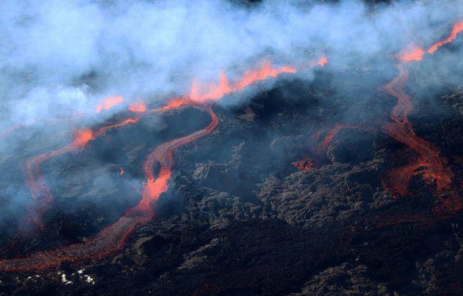 La Réunion: Le piton de la Fournaise en éruption pour la quatrième fois de l'année