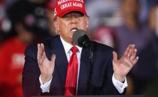 Donald Trump en Floride, le 1er novembre 2020.