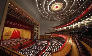 Ouverture à Pékin du 18e congrès du parti communiste chinois, le 8 novembre 2012.