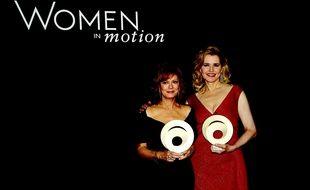 Susan Sarandon et Geena Davis à Cannes le dimanche 16 mai 2016.
