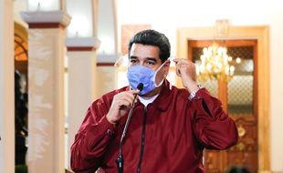 Le président du Venezuela, Nicolas Maduro, à Caracas le 13 mars 2020.
