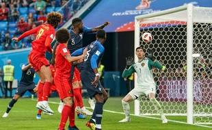 Le but qui qualifie la France en finale de la Coupe du monde.