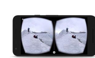 YouTube, de Google, supporte désormais les vidéos en réalité virtuelle.