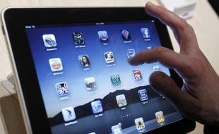 En France, l'iPad devrait arriver à la fin du mois.