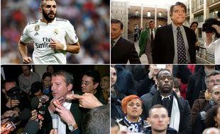 Benzéma, Tapie, Courbis, Diawara... Quand le foot s'invite à la barre.