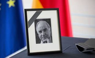 Illustration hommage Helmut Kohl. 19 Jun 2017
